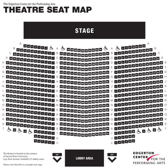 Theatre Seat Map